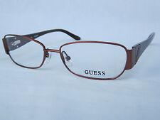 GUESS Womens BROWN Eyeglass Frame GU2307 BRN NEW DESIGNER  52mm 15mm 140mm