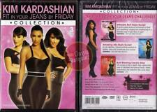 Kim Kardashian Fit In Your Jeans By Friday =3-DVD= NEW (Region 4 Australia)