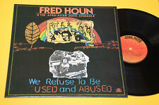 AFRO ASIAN MUSIC ENSEMBLE LP REFUSE TO BE USED AND ABUSED ORIG ITALY 1988 NM !