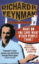 'what Do You Care What Other People Think?' Feynman  Richard P.