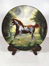 Painted Sunrise Unbridled Spirit Chuck Dehaan Hamilton Collection Coa