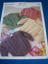 Teddy Aran Knitting Children's Sweater & Cardigans Knitting pattern 7105