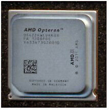 AMD Opteron 4226 Six-core processor - 2.7GHz, 8MB Level-3 cache.