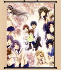 "8""*12"" Home Decor Japan Anime CLANNAD Cosplay Wall poster Scroll 357"