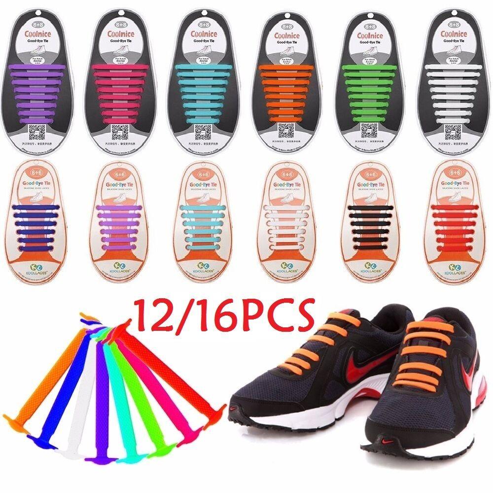 No Tie Tie No Elastic Zapatos Lace 100% Silicone Trainers Zapatos Adult Kids Zapatoslace Pb 40e2ae