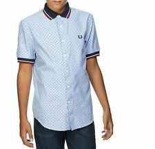 Fred Perry Button Down T-Shirts & Tops (2-16 Years) for Boys