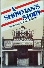A Showman's Story The Memoirs of Jim Davidson - HC/DJ - 1983 - 1st - Like New