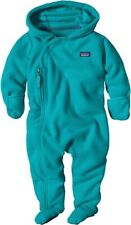 Patagonia Micro D Fleece Bunting Epic Blue Size 18-24 Months