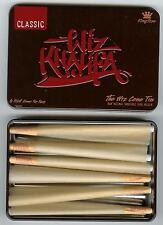 RAW Rolling Papers and Wiz Khalifa CONE Storage TIN (includes 6 CONES) KING SIZE