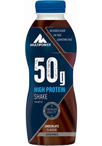Multipower 50g High Protein Shake 12er Pack - 500ml / Eiweißshake Proteindrink