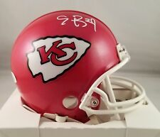 Eric Berry Autographed Signed Mini Helmet Kansas City Chiefs JSA