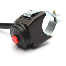 "7/8"" Handlebar Motorcycle Quad Moped Kill Start Horn Switch Pushbutton Universal"
