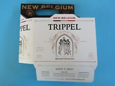Beer Six Pack Holder (6-pack) ~ NEW BELGIUM Brewing Co Trippel ~ Ft Collins, CO