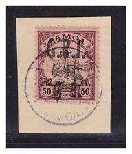 Samoa GRI  Minr. 8 PF I ° Apia  10.9.14  Luxus Briefstück sign.