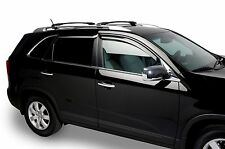 Tinted Window Visors Shade Fits 2011-2015 Kia Sportage (Set of 4) Tape On