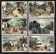 William Tell Rare French Card Set Liebig 1900 Crossbow Swiss Legend Gessler