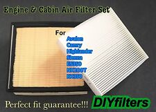 Engine&Cabin Air Filter For SIENNA CAMRY AVALON HIGHLANDER ES350 NX200T RX350