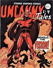 UNCANNY TALES #64 - Alan Class UK /Reprints Avengers #57 / 1st Appearance Vision