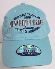 Newport Beach Hat Cap California  Balboa USA Embroidery New