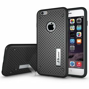 JKase MESH 2 Layer Case Cover Build-In Stand for Apple iPhone 6S Plus / 6 Plus