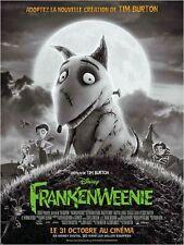 Affiche 120x160cm FRANKENWEENIE (2012) Tim Burton - film d'animation Disney NEUV