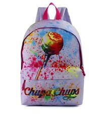 CHUPA CHUPS - RETRO/CLASSIC LOLLIPOP SCHOOL BACKPACK - LILAC