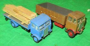 2 Cooper Craft OO scale AEC Monarch trucks kit built  for renovation