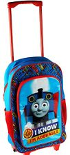 Thomas & Friends Blue Boys Luggage Deluxe Holidays Travel Wheeled Bag Cabin Bag