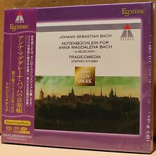 ESOTERIC SACD ESSW-90067: J.S. BACH A Selection for Anna Magalena Bach, JPN 2012