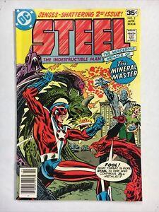 Steel #2 Very Fine 1978 DC Comic Indestructible