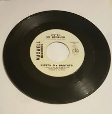 Northern Soul 45 Listen My Brother Promo Maxwell Records