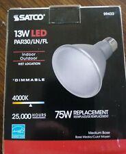 Satco 13W Led Par30/Ln/Fl S9433