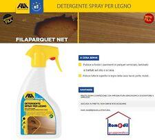 FILA PARQUET NET 500ml Detergente pulitore spray Legno pavimenti laminato mobili