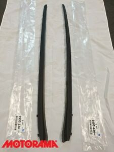 Genuine Holden Commodore VE - WM 2006-2013 Front Windscreen Moulds Trim PAIR NEW