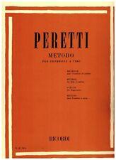 Metodo per trombone a tiro - Peretti - Ricordi