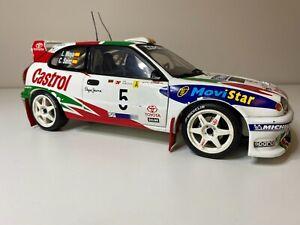 Autoart 1:18 Toyota WRC Corolla Rally Sainz/Moya