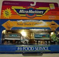 Rare Gold Big rig semi tractor trailer tanker van Truck Moc mint cars vtg milk