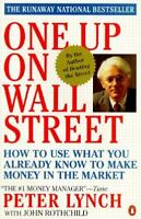 ONE UP ON WALL STREET by Peter Lynch a paperback book FREE USA SHIPPING stocks