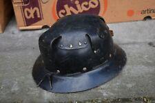 Vintage mining miners helmet - Patent Pulp Thetford Norfolk
