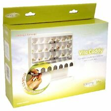 28 Day Pill Organizer Vitamin Dispenser Vita Caddy Monthly Medication System