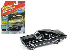 1967 Chevrolet Chevelle Black Muscle Cars Usa 1/64 Johnny Lightning Jlmc006 A