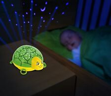 ANSMANN Child's LED Nightlight Turtle with starlight projection onto walls