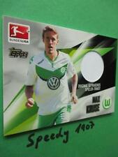 Topps Bundesliga Chrome 2016 Trikot Karte Kruse Wolfsburg Jersey Trikotkarte