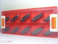 10x SANDVIK n123j2-0600-ro 1105 PLAQUETTES DE COUPE PLAQUETTES en carbure