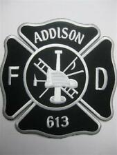 US FIREFIGHTER ADDISON 613 FIRE DEPARTMENT NEW BIG SIZE