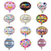 5x Happy Birthday Aluminiumfolie Ballons Geburtstag Hochzeit Dekoration  Gut YR