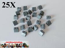 61409 15 schräge Gitter 1x2x2//3 Lego in dunkelgrau aus 8037 8077 7869 10227