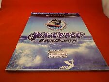 Wave Race Blue Storm Nintendo Gamecube Strategy Guide Players Hint Book Waverace