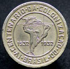 400 REIS 1932 BRESIL / BRAZIL - 400 ans colonisation