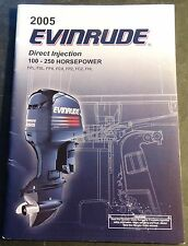 2005 EVINRUDE OUTBOARD MOTOR 100-250 HP DIRECT INJECTION OWNERS MANUAL (243)